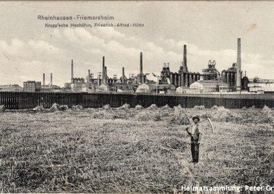 Duisburg-Rheinhausen / Friemersheim / Krupp'sche Hochöfen