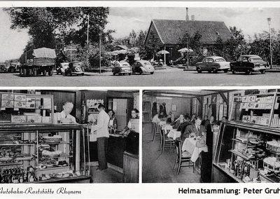 Rhynern / Autobahn Raststätte 1955
