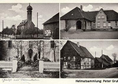 Rhynern-Wambeln / Befördert 1941 mit Feldpost
